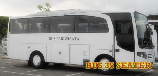 bus 35 seater for full day tour or day charter for max 10hrs with driver & petrol