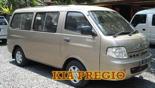 kia pregio with bali driver for full day tour or full day charter