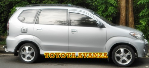 toyota avanza with bali driver for full day or charter inccluding driver & petrol